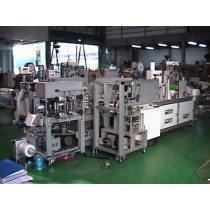 HM200-3P Shoe cover making machine & packing system
