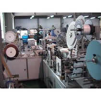 HM 123P Nonwoven disposable fully automated mask making & packing system