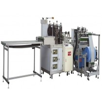 HM 200-13A Nonwoven disposable boot cover making machine